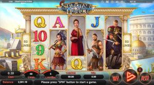 รีวิวเกมสล็อต Sparta's Honor